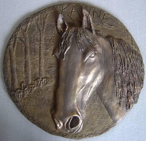 plakkaat fries paard