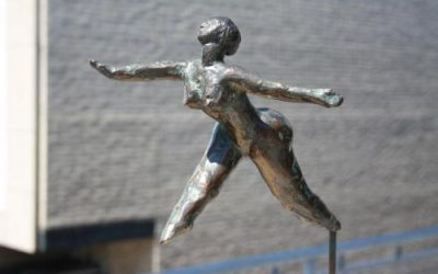 Vreugdesprong naar de vrijheid